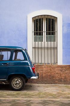Fine art photograph: Renault Azul by Nat Coalson
