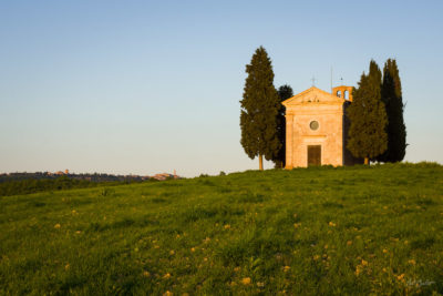 Travel Photograph: Cappella di Vitaleta by Nat Coalson